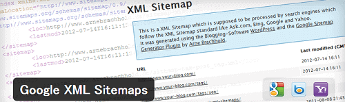 WordPress(ワードプレス)Google XML Sitemaps