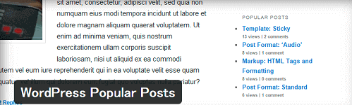 WordPress(ワードプレス)WordPress Popular Posts