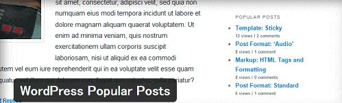 WordPress(ワードプレス)WordPress Popular Posts