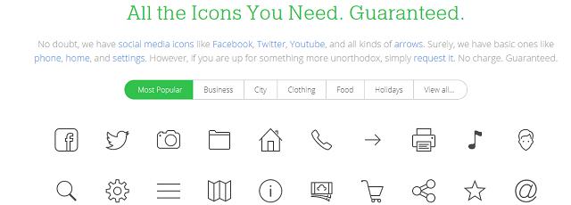 無料で使えるアイコン素材のIcons8